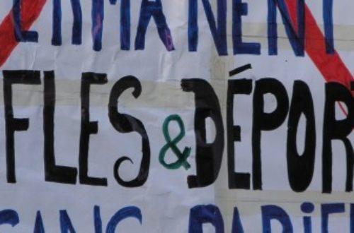 Article : Marche à la mémoire des milliers de victimes en mer