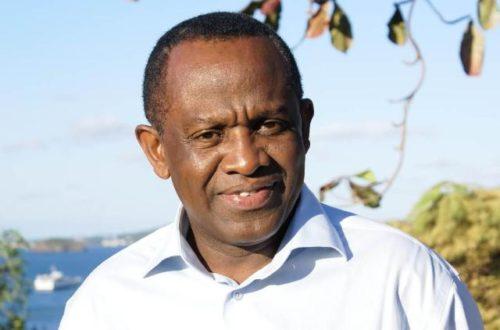 Article : Interview avec Saïd Omar Oili, Président du parti NEMA