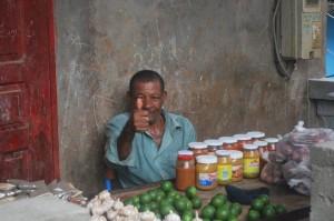 Commerçant à Kaweni