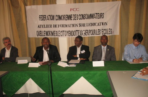 Article : La Fédération Comorienne des Consommateurs repense le système éducatif comorien