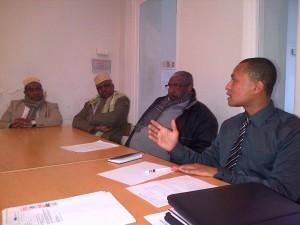 Antoissi Said Allaoui, lors de la réunion annuelle de samedi 9 février
